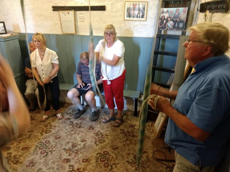 Ringing at Marston  Magna