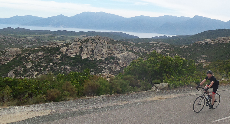 Riding in Corsica